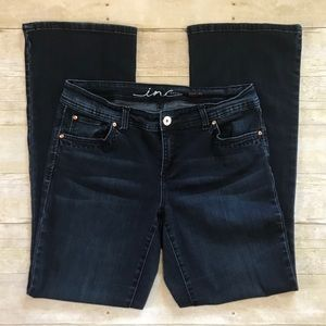 INC Boot Leg Curvy Fit Dark Wash Denim Jeans - 8